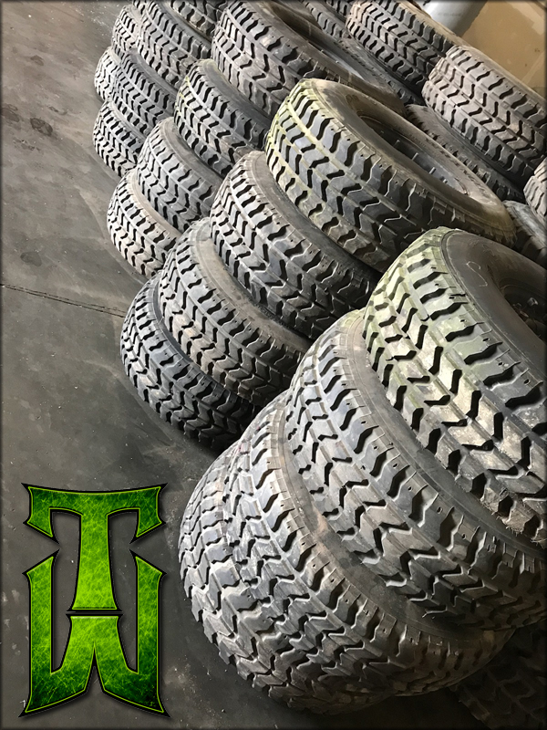 Stock 12 Bolt HMMWV Wheel With Stock Tire Combo