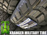 Xranger Military Tire 37x12.50-16.5