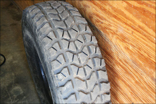Grooved Goodyear Wrangler MT's 37x12.50R16.5