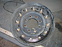 Hummer 12 Bolt Bead Lock Wheel Dish Only